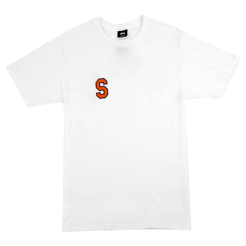 Stussy College Arc T Shirt in White