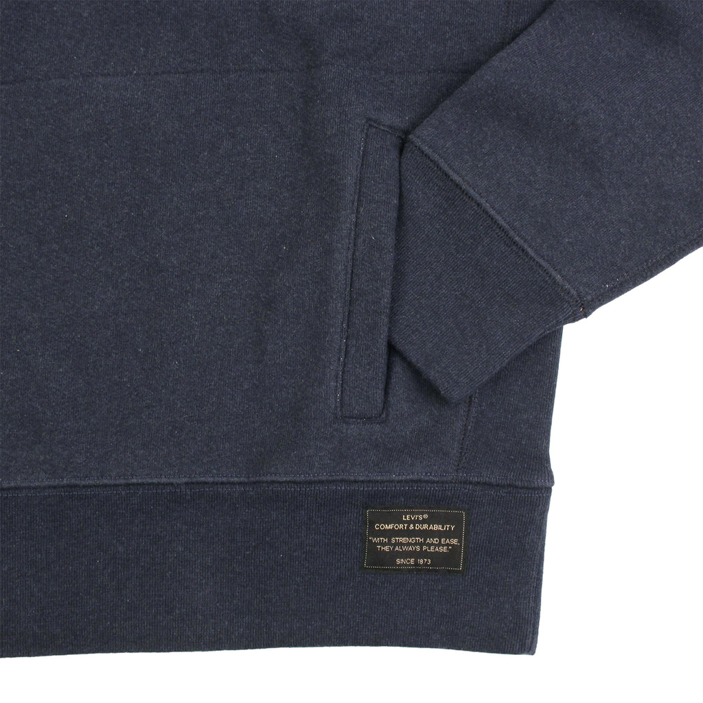 Levi's Skateboarding Collection Hoodie in Dark Navy - Cuff