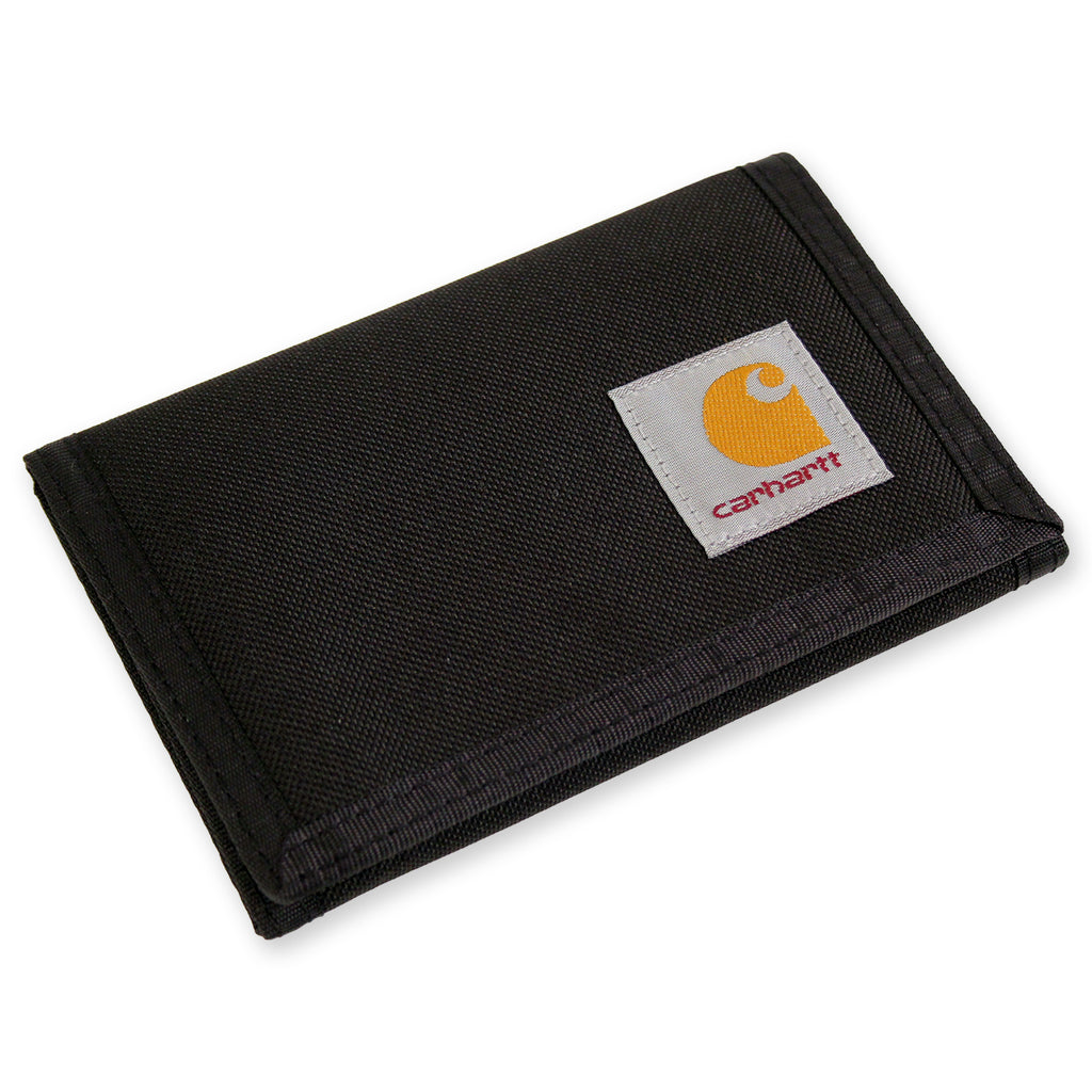 Carhartt Wallet in Black - Side on