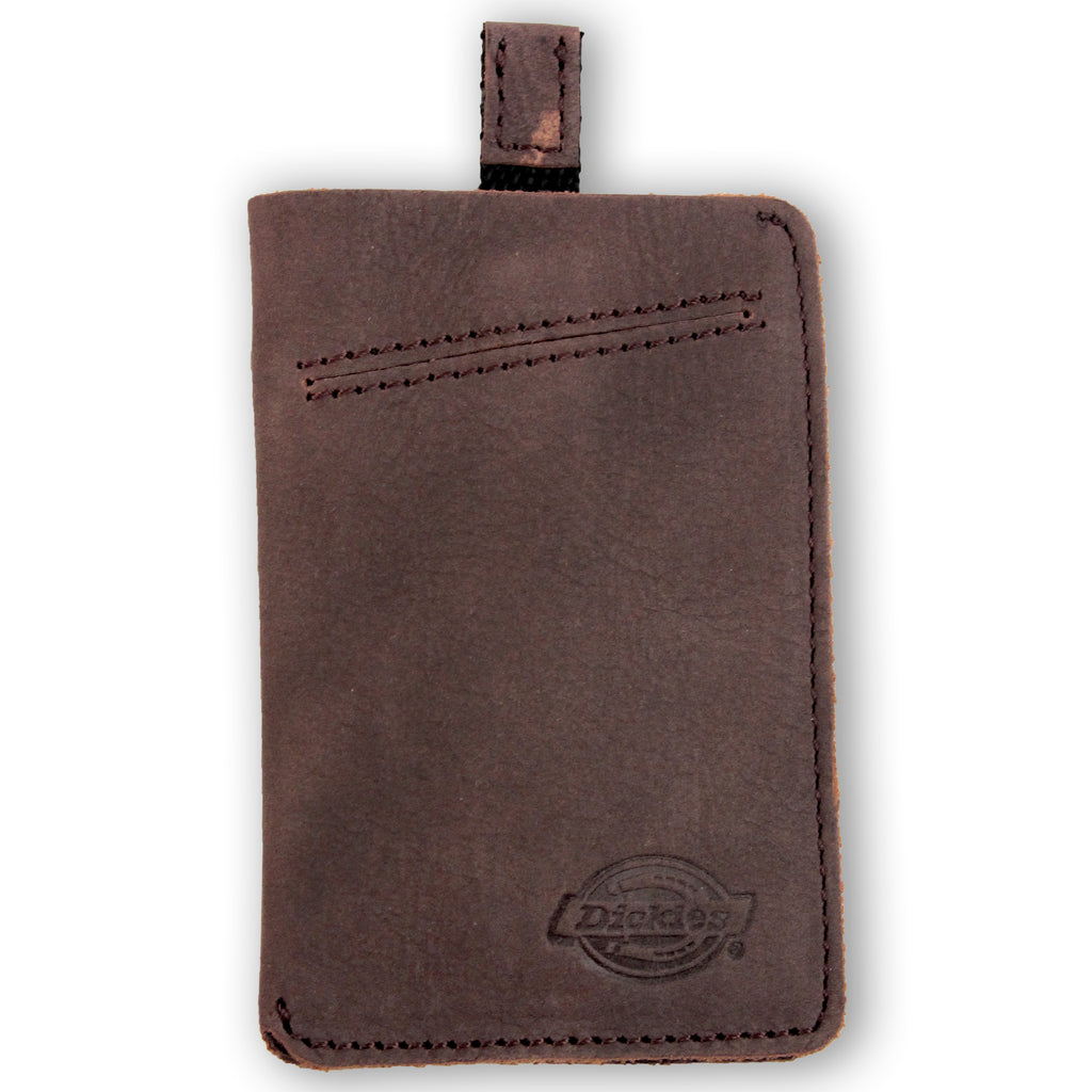 Dickies Larwill Card Wallet in Brown
