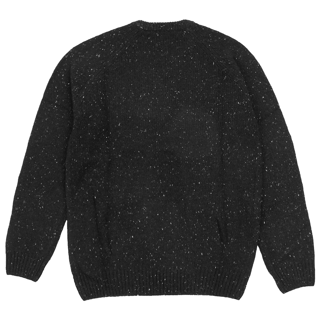 Carhartt Anglistic Sweater in Black Heather - Back