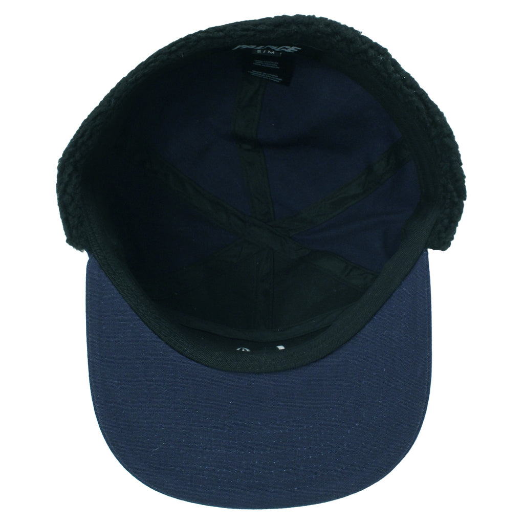 Palace All Terrain Trooper Cap in Navy - Inside