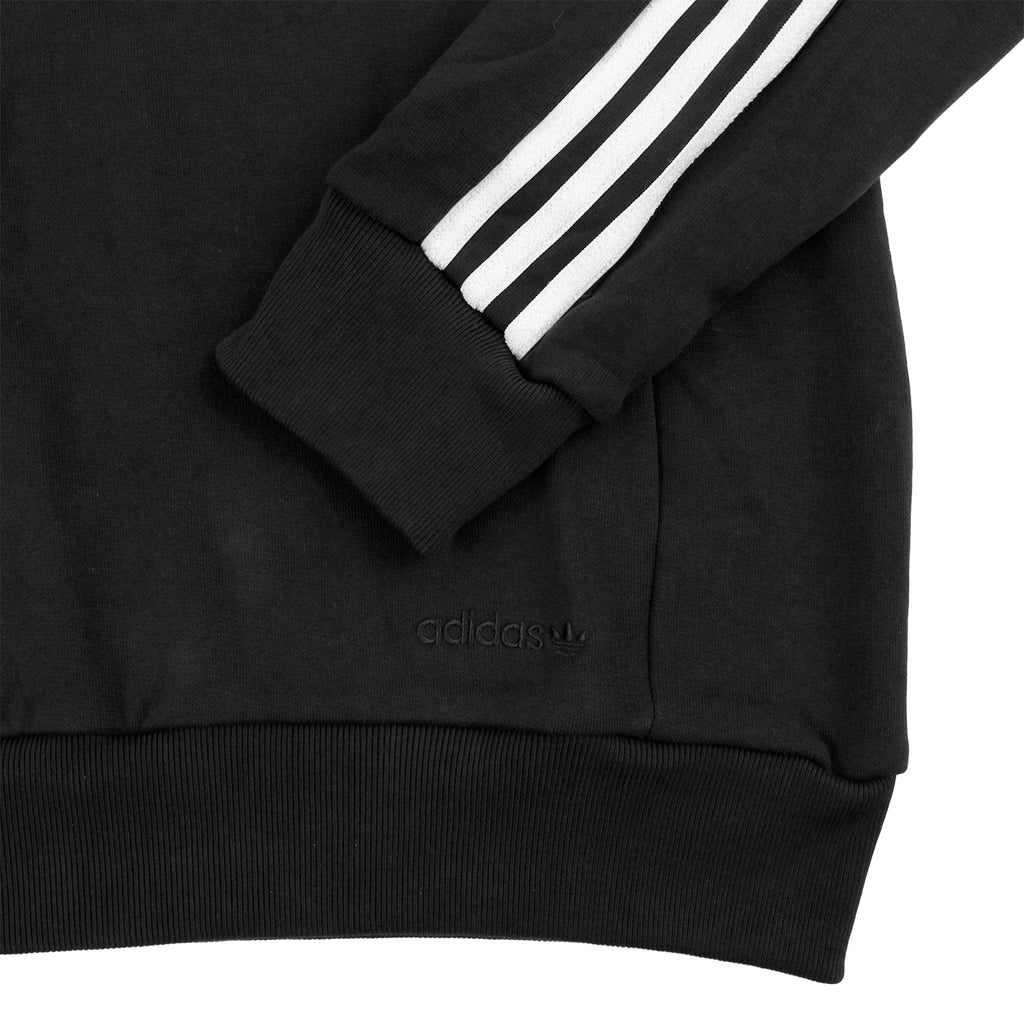 Palace x Adidas Track Top FT in Black / White - Cuff