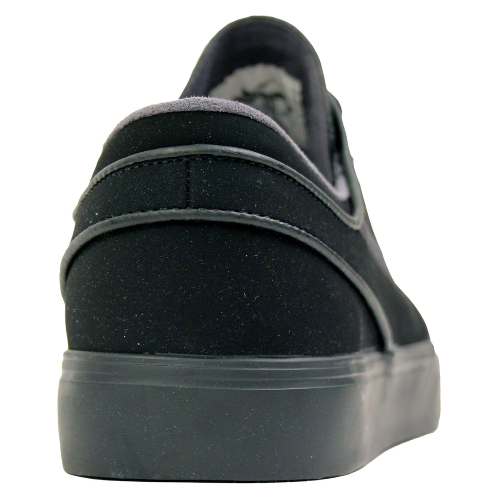 Nike SB Stefan Janoski Shoes in Black / Anthracite - Heel