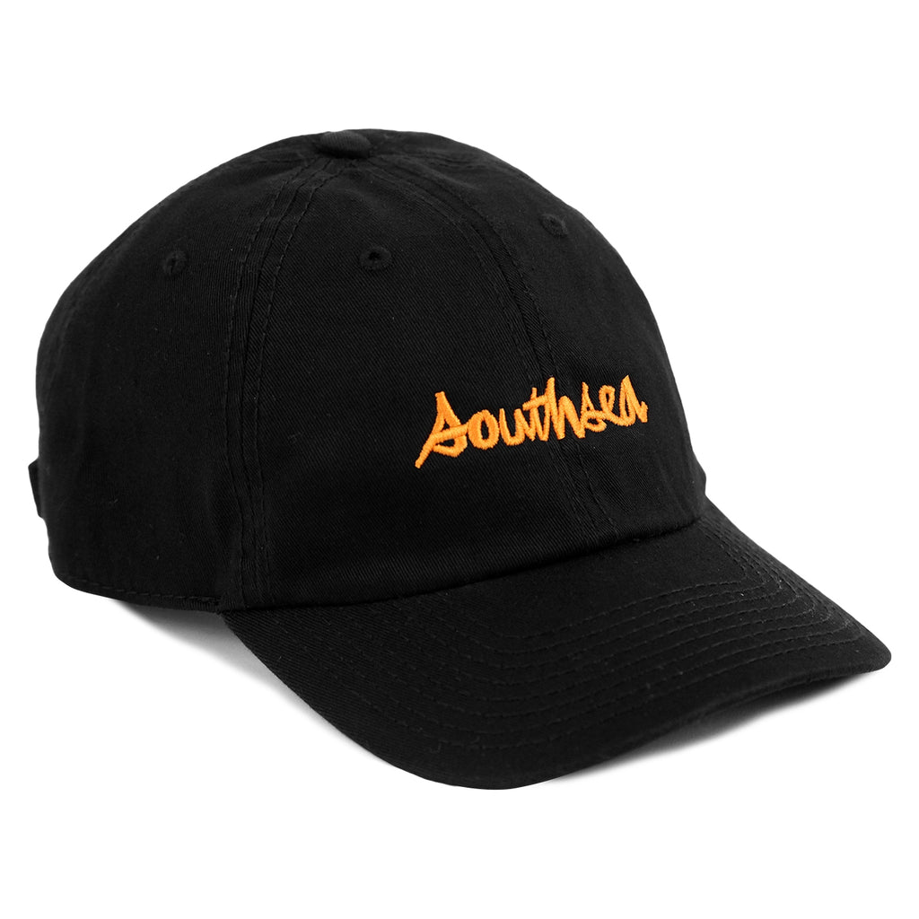 Bored of Southsea x Chocolate Skateboards Chunk The World Dad Cap in Black