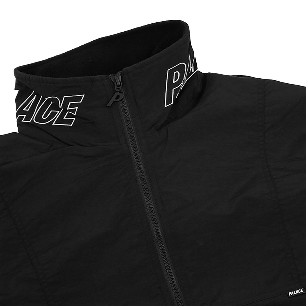 Palace Arms Jacket in Anthracite - Detail