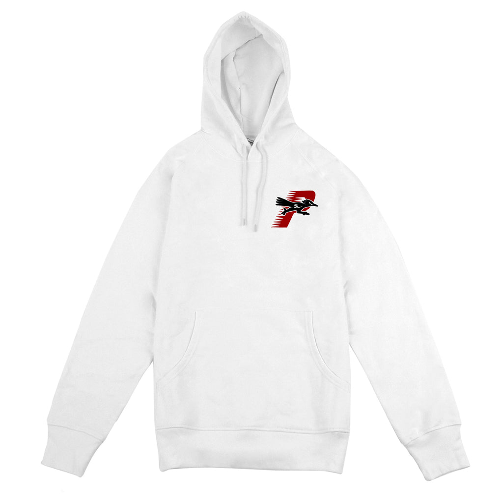 Palace Roadrunner Hoodie in White