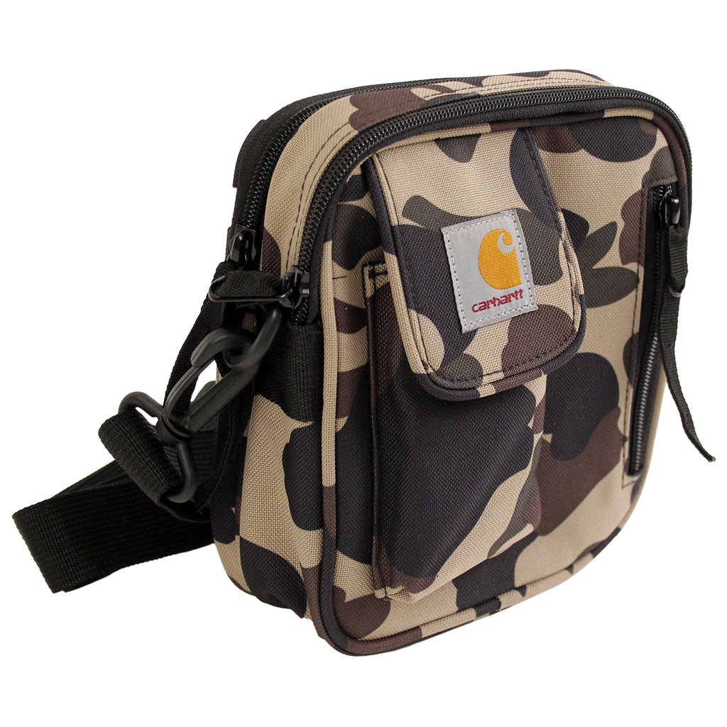 Carhartt WIP Essentials Bag in Camo Duck - Side on
