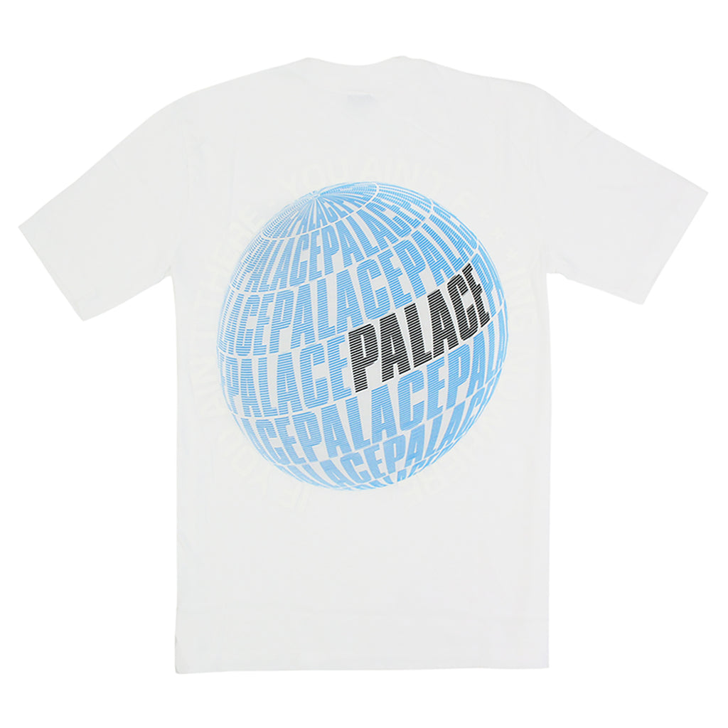 Palace If You Ain't There T Shirt in White
