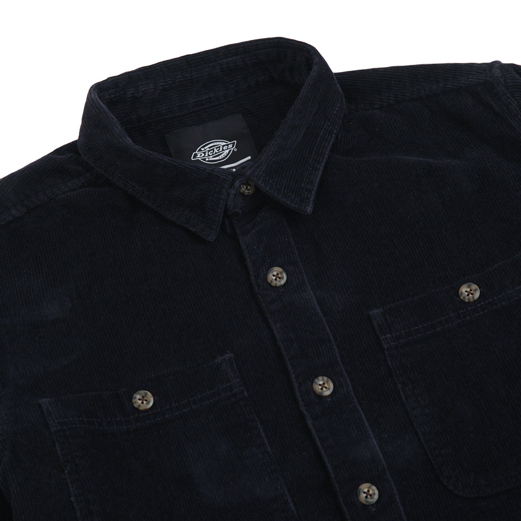 Dickies Arthurdale Shirt in Dark Navy - Detail