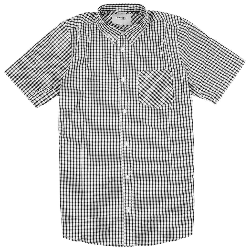 Carhartt Kenneth S/S Shirt in Black Kenneth Check