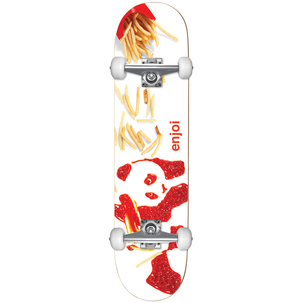 Enjoi Youth Fries Complete Skateboard in 7""