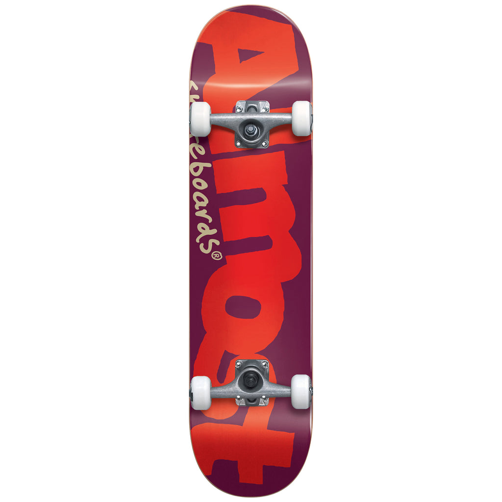 Almost Skateboards Youth Bent Logo Complete Skateboard in 7""