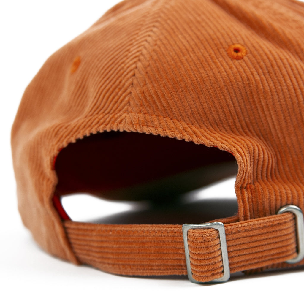 Stussy Corduroy Low Pro Cap - Orange - Back