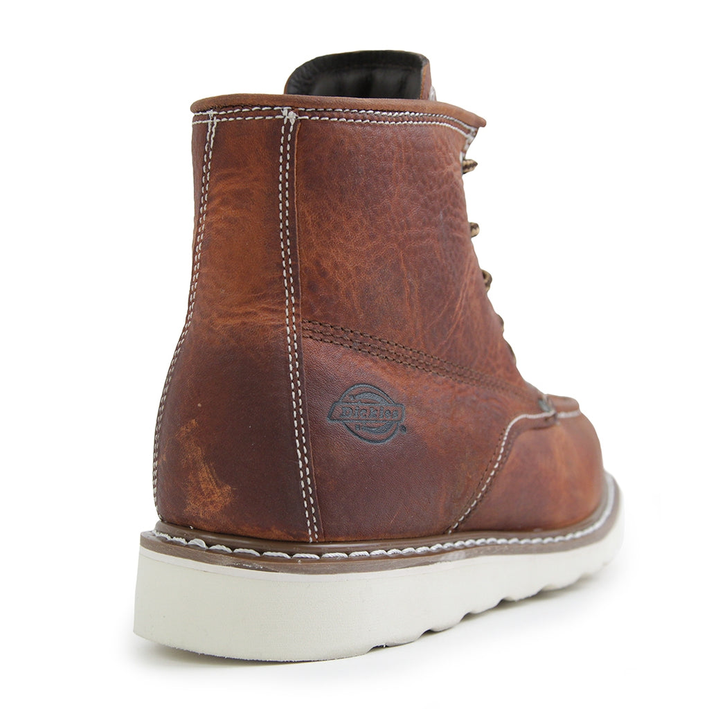 Dickies Illinois Boots in Dark Brown - Back