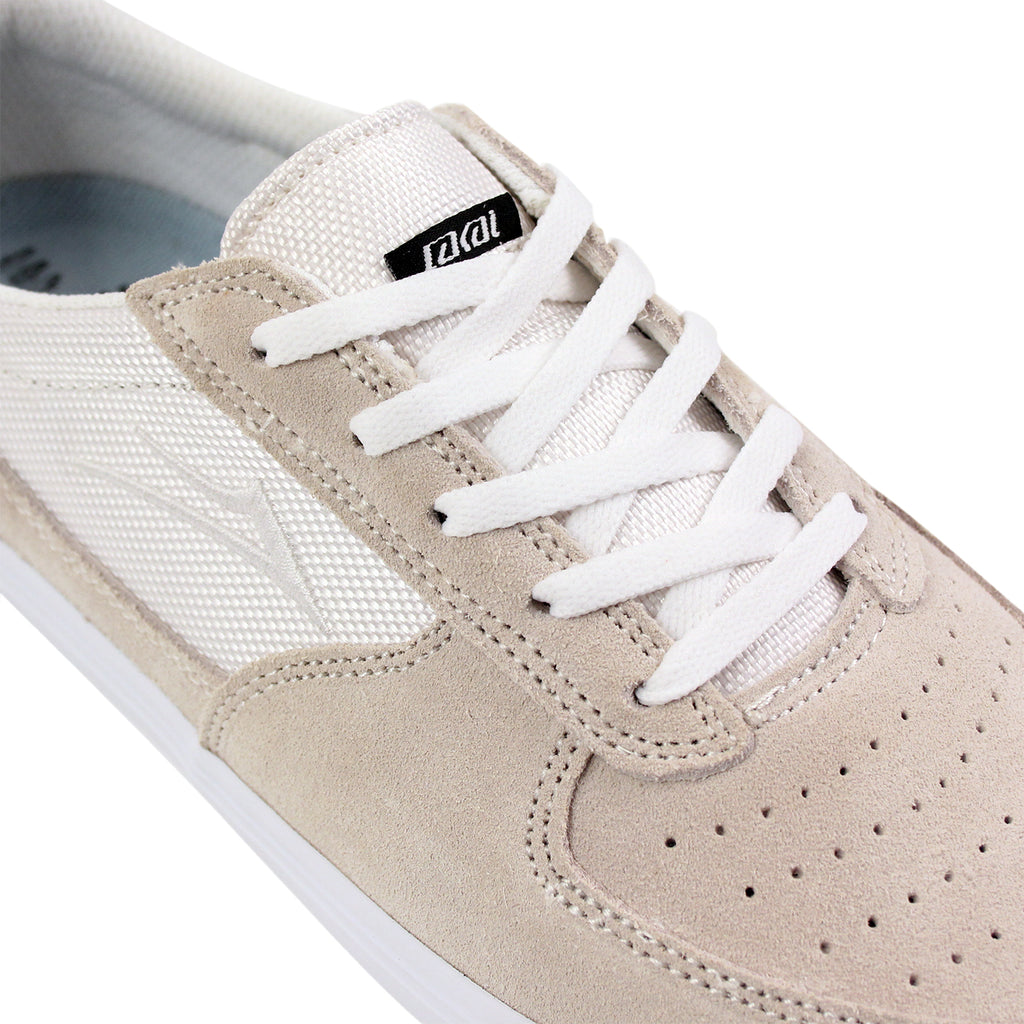 Lakai Parker Chalk Pack Shoes in White - Detail