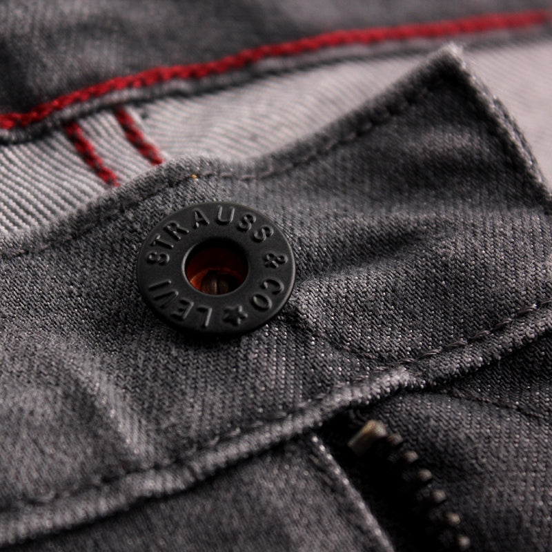 Levi's Skateboarding Collection 504 Straight Jeans in Slappy - Button