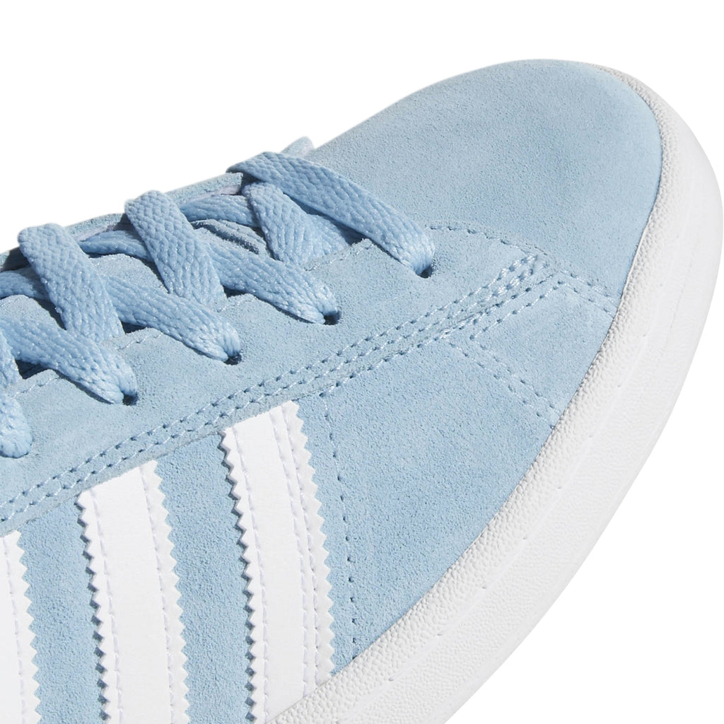 Adidas Campus ADV Shoes in Clear Blue / Footwear White / Footwear White - Toe