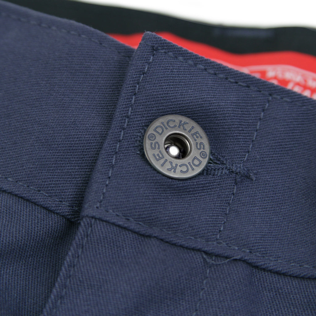 Dickies 894 Industrial Work Pant in Navy Blue - Button