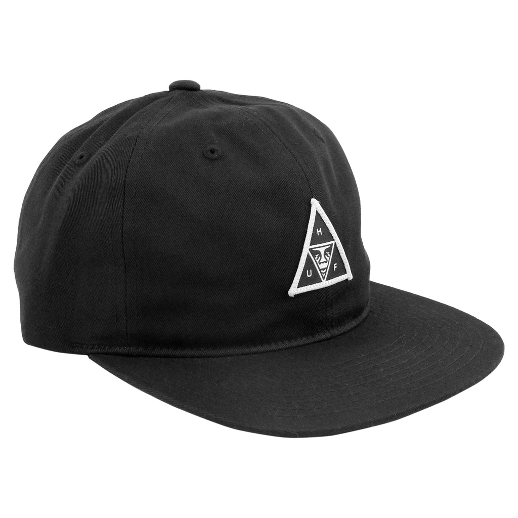 HUF x Obey 6 Panel Cap in Black