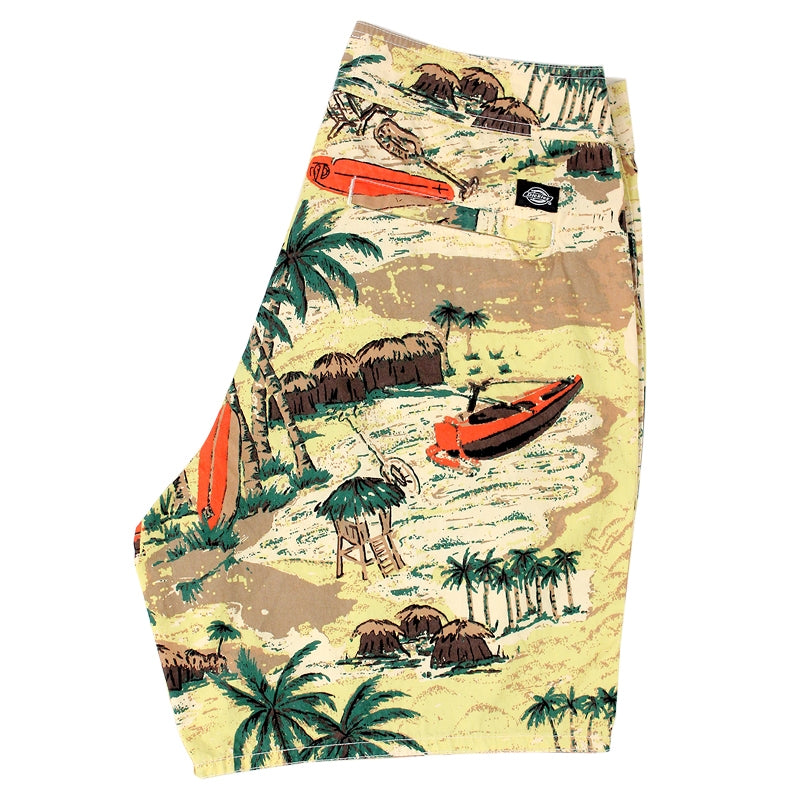 DICKIES PALM VALLEY SHORT YELLOW - Profile