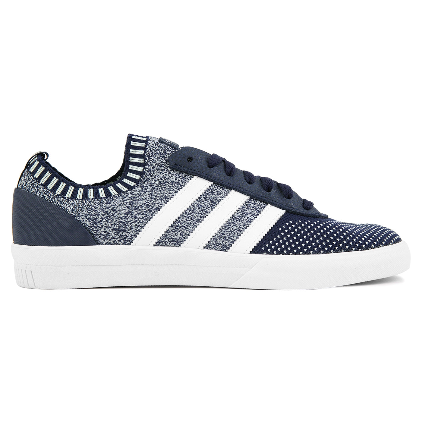 Adidas Skateboarding Lucas Premiere Primeknit Shoes - Collegiate Navy   FTW  White   Areo Green 67080be13