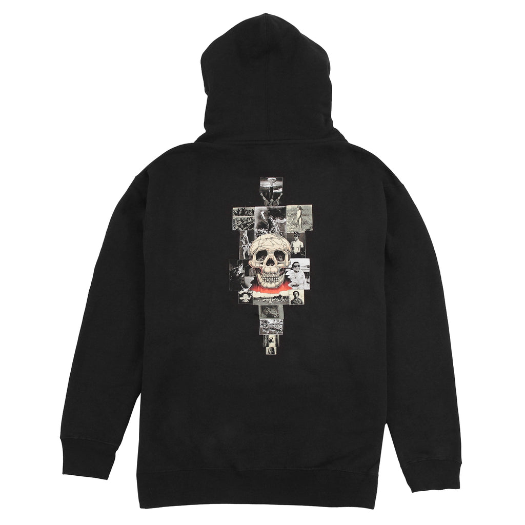 Fucking Awesome KB Collage Hoodie in Black - Back
