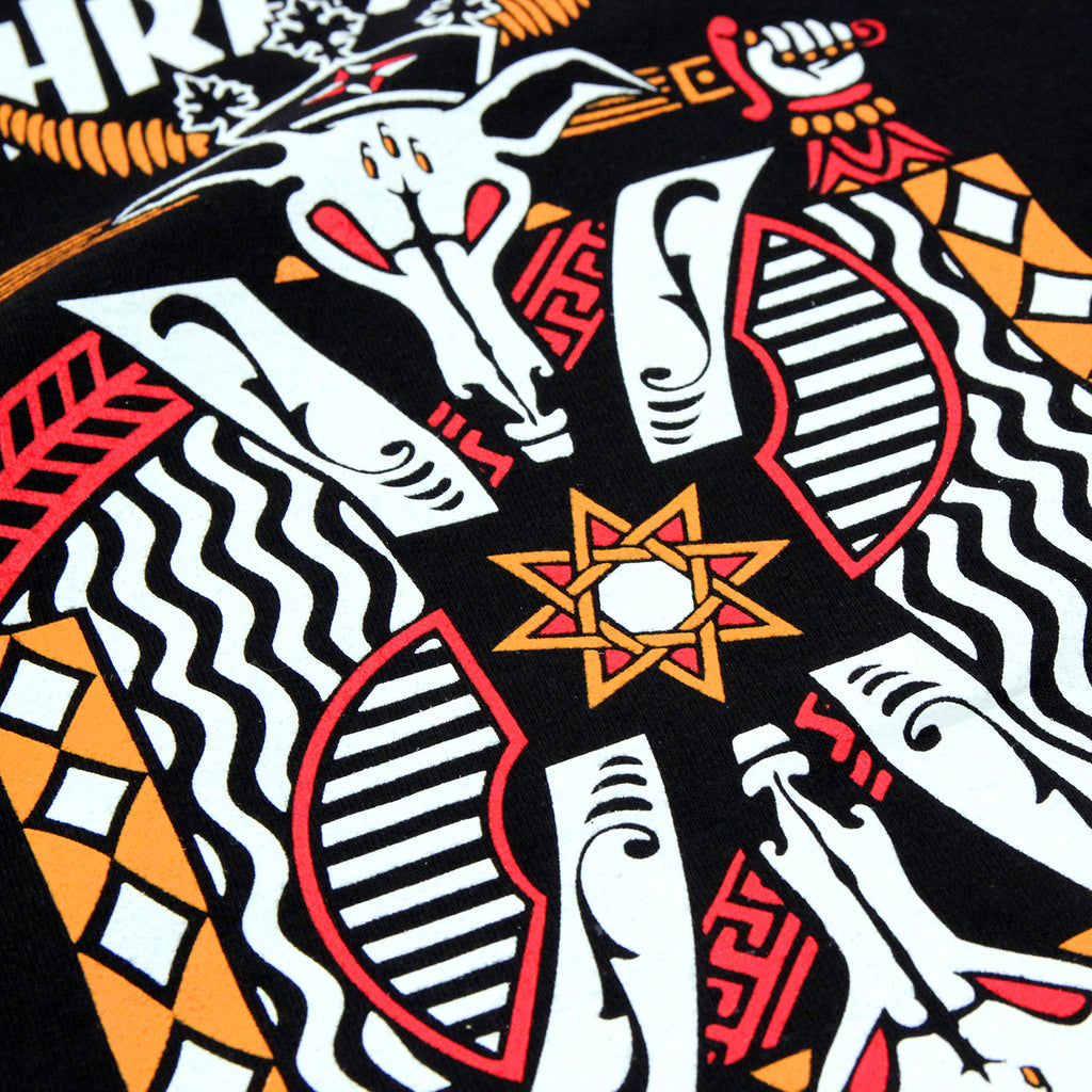 Thrasher King Of Diamonds L/S T Shirt in Black - Print detail