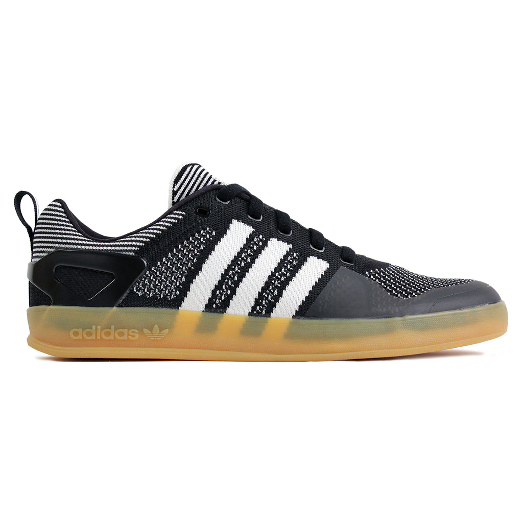 Palace x Adidas Pro Primeknit Shoes in Core Black / White / Gum