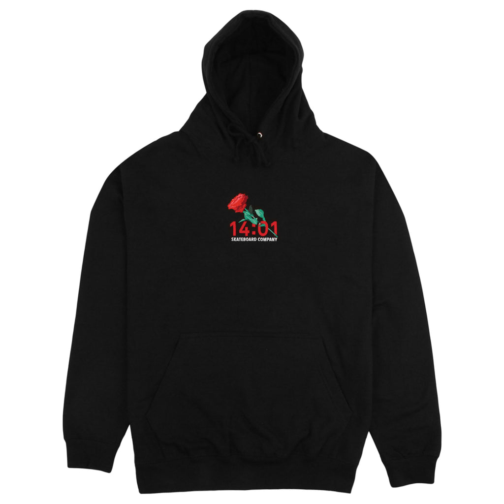 14:01 Skateboard Co Passionate Hoodie in Black