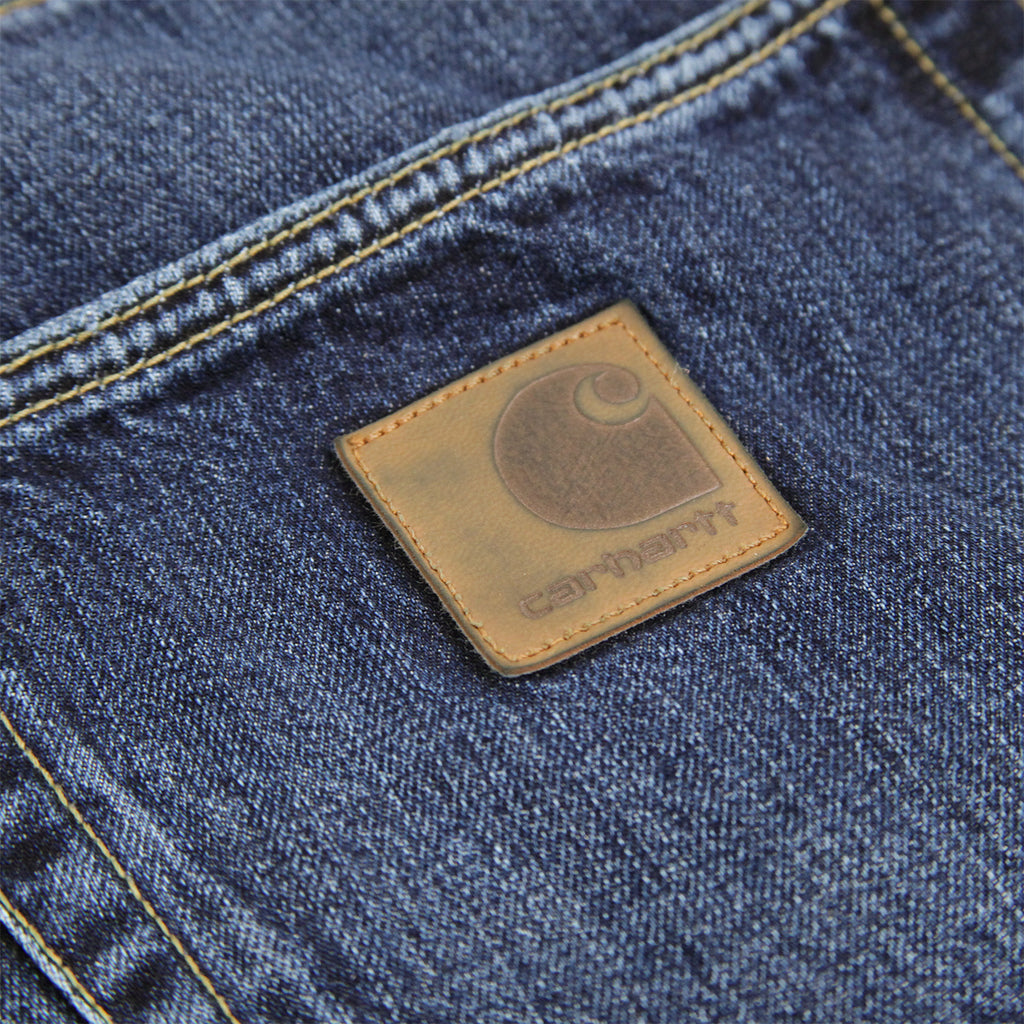 Carhartt Klondike Pant Hanford in Blue Rope Washed - Label