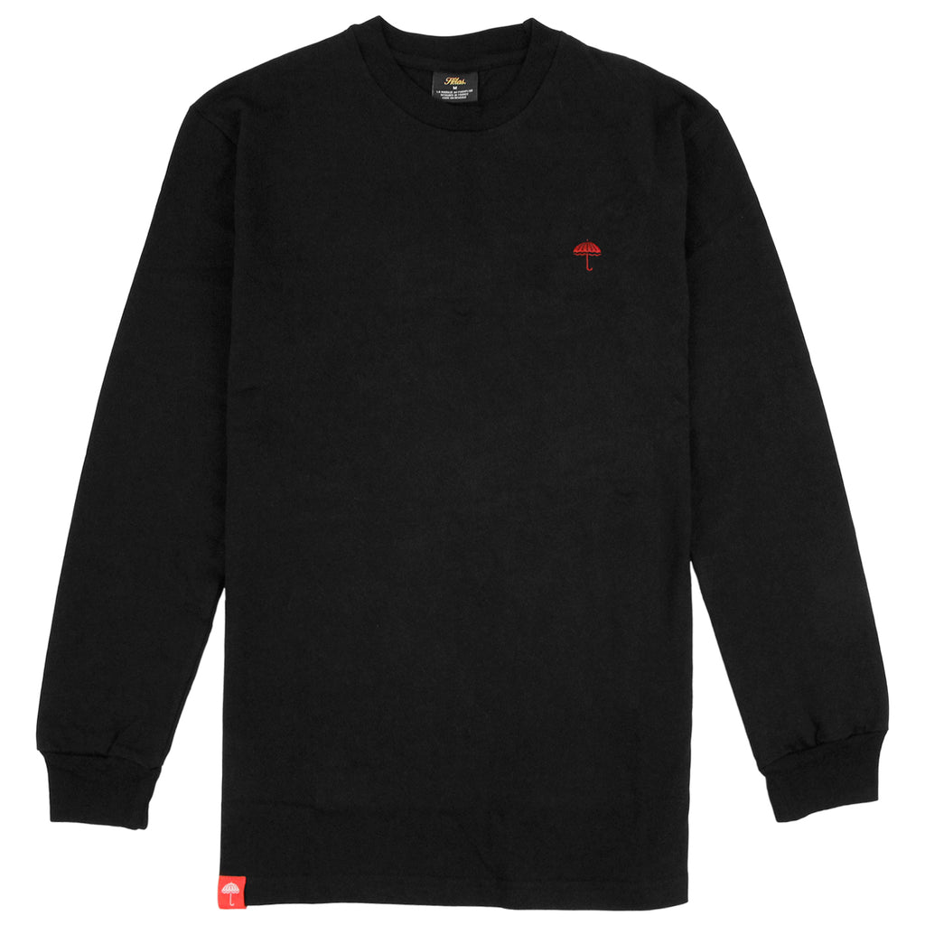 Helas Classic L/S T Shirt in Black