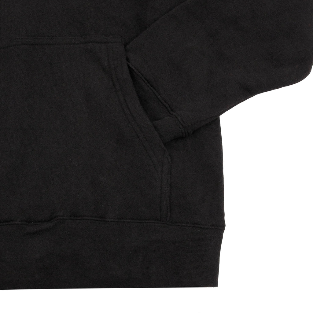 Stussy HD Stock Hoodie in Black - Pocket
