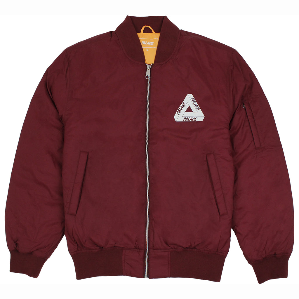 Palace Thinsulate Bomber Jacket in Cordovan