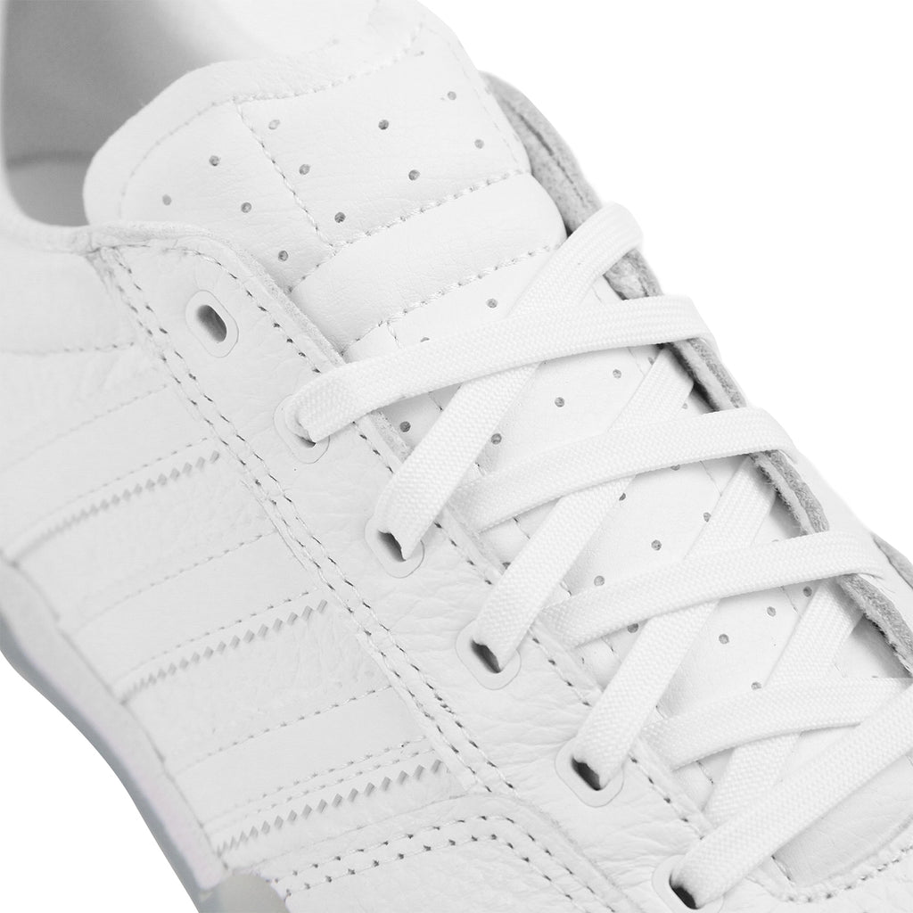Adidas Skateboarding City Cup Shoes - White / White / Gold Metallic - Laces