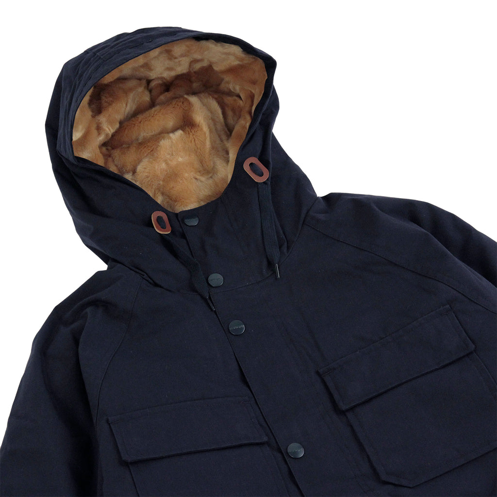 Carhartt Mentley Jacket in Navy - Detail