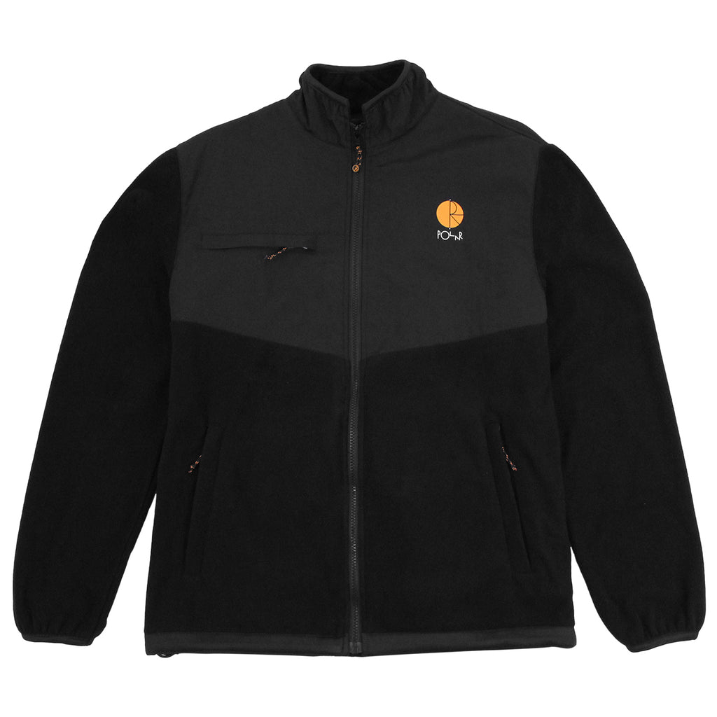 Polar Skate Co Halberg Jacket in Black / Orange