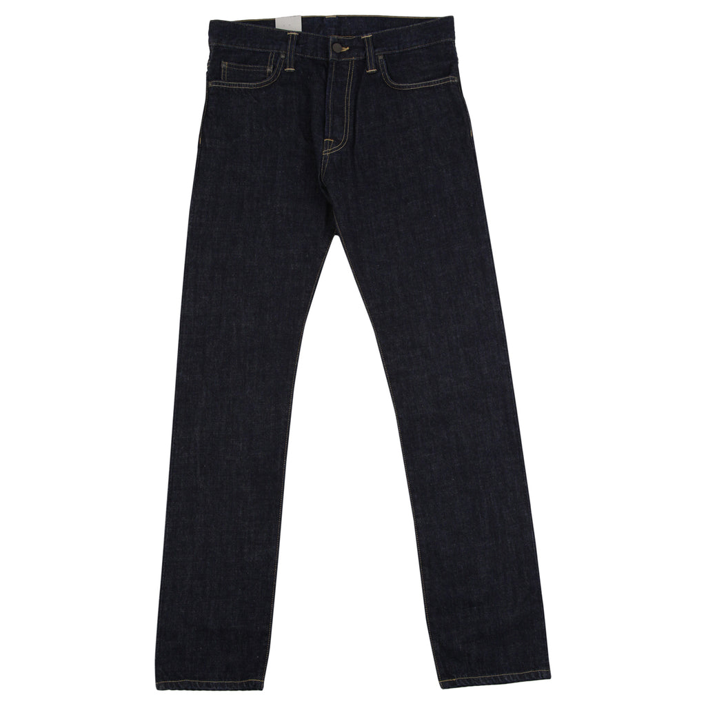 Carhartt Oakland Pant Edgewood Jeans in Blue Rinsed - Open