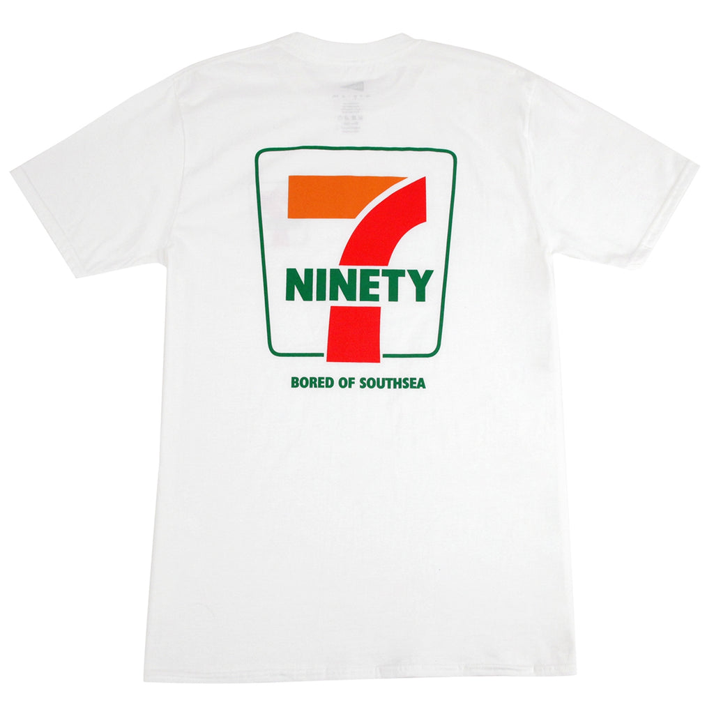 Bored of Southsea Ninety Seven T Shirt in White