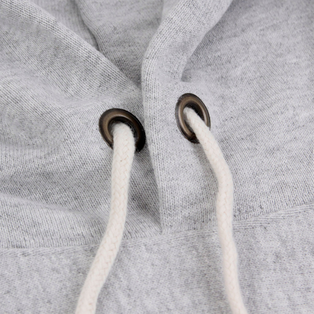 Champion Hooded Sweatshirt in Oxford Grey - Drawstrings