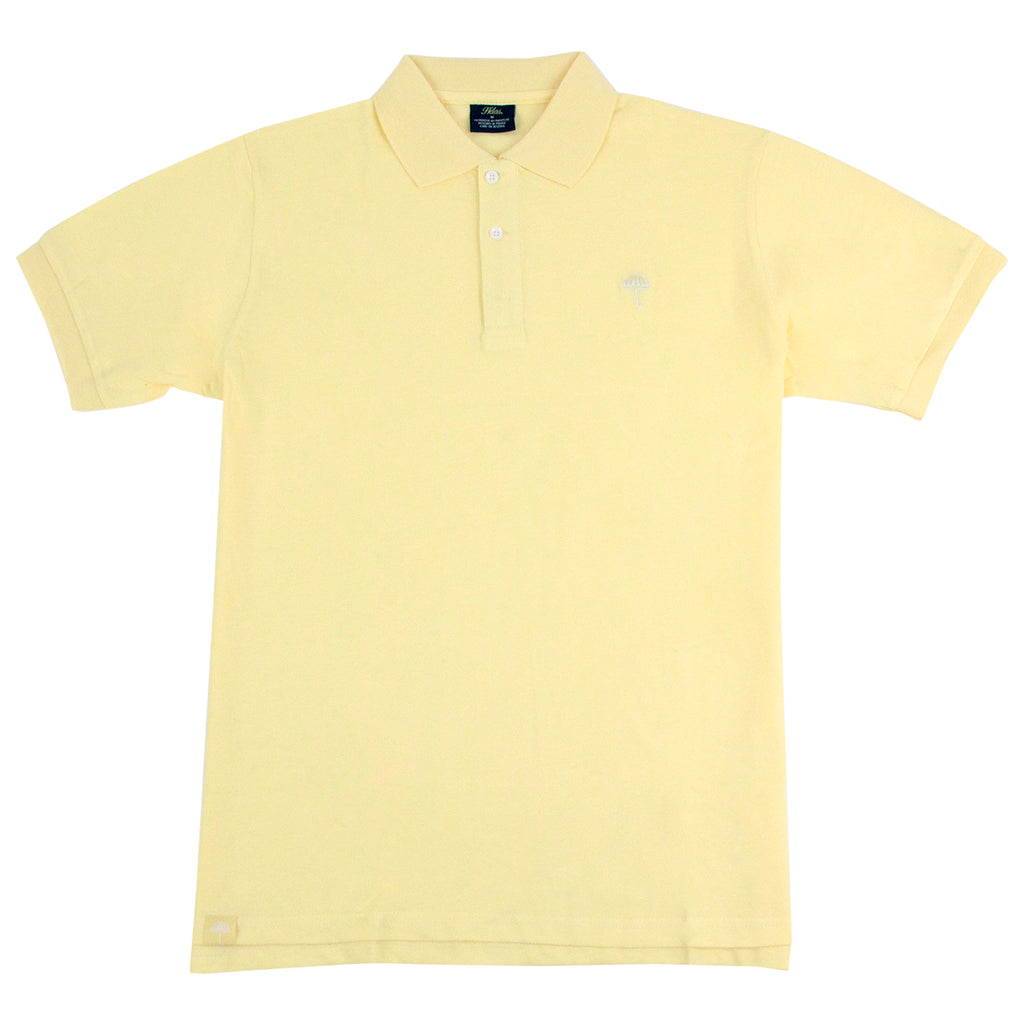 Helas Classic Polo Shirt in Pastel Yellow