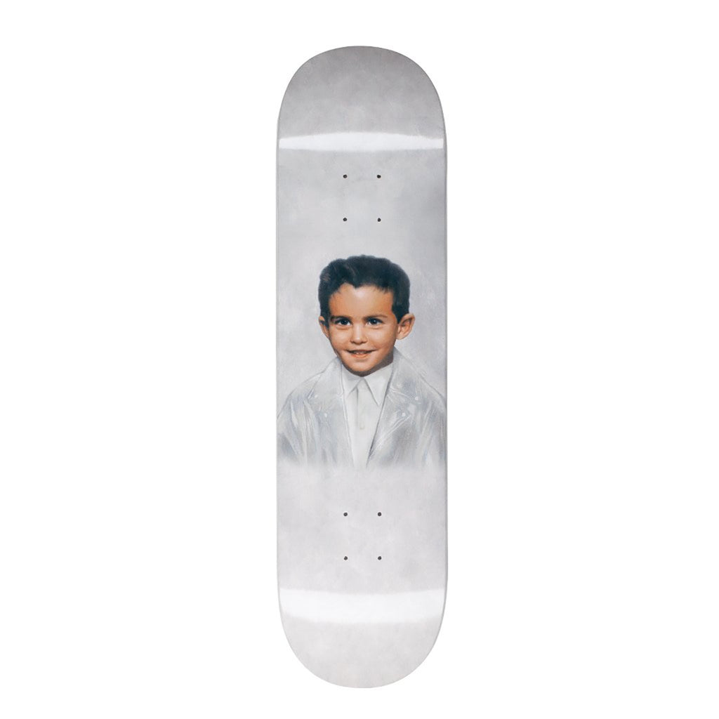 Fucking Awesome Dylan Dipped White Skateboard Deck in 8.25""