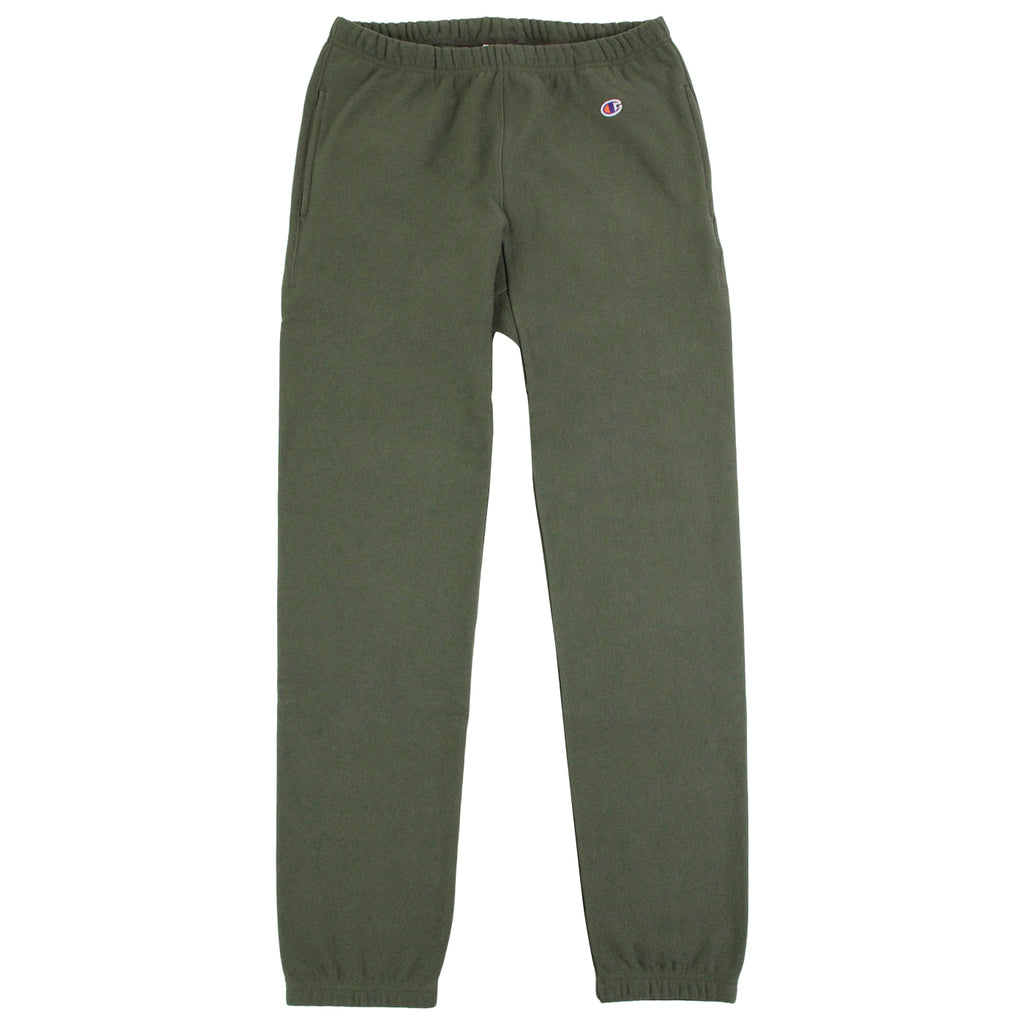 Champion Elastic Cuff Pant in Olive - Open