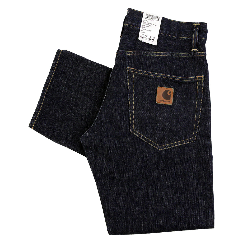 Carhartt Oakland Pant Edgewood Jeans in Blue Rinsed