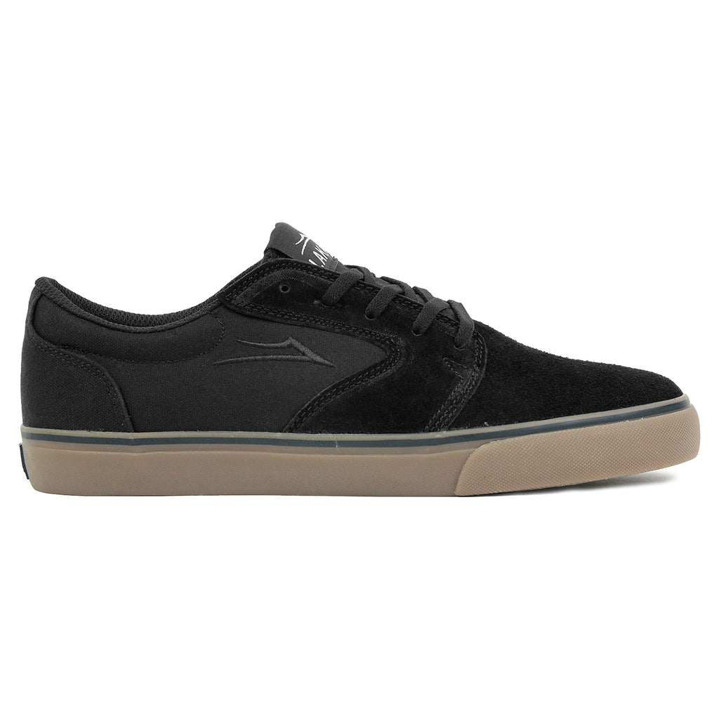 Lakai Fura Suede Shoes in Black/Gum