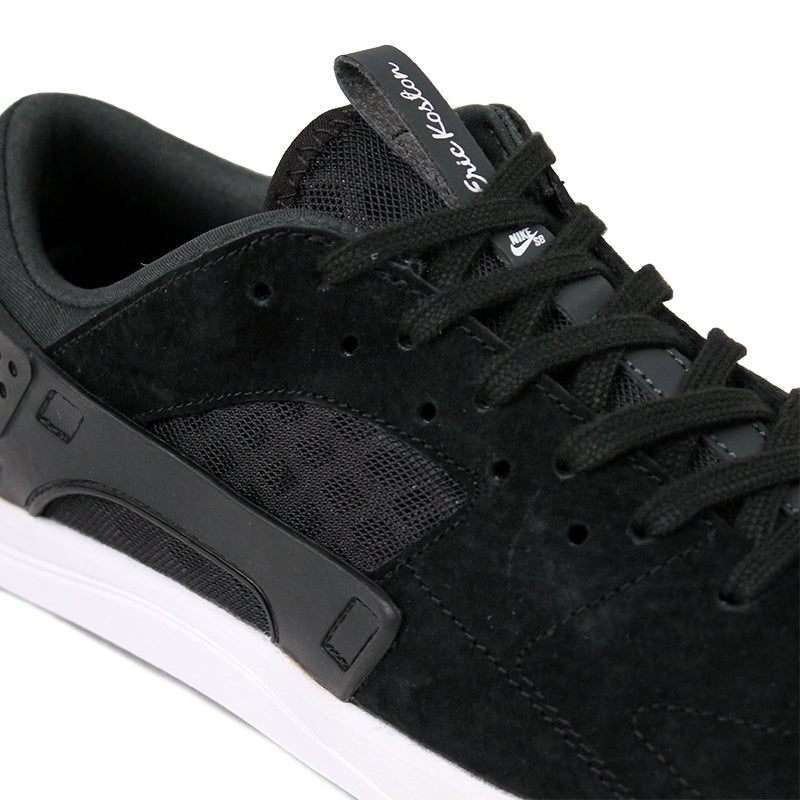 Nike SB Eric Koston Huarache Shoes in Black / Anthracite / White - Laces