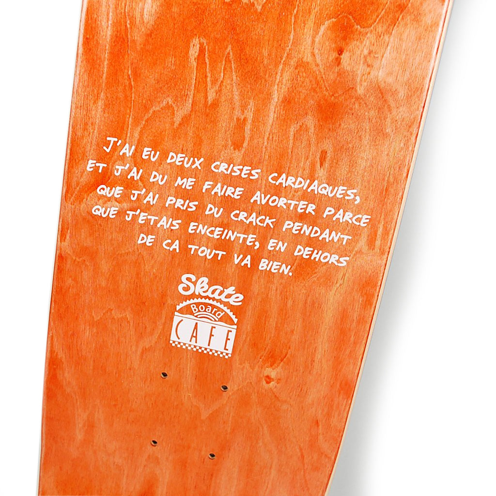 "Skateboard Cafe Amelie Skateboard Deck in 8.375"" - Print"