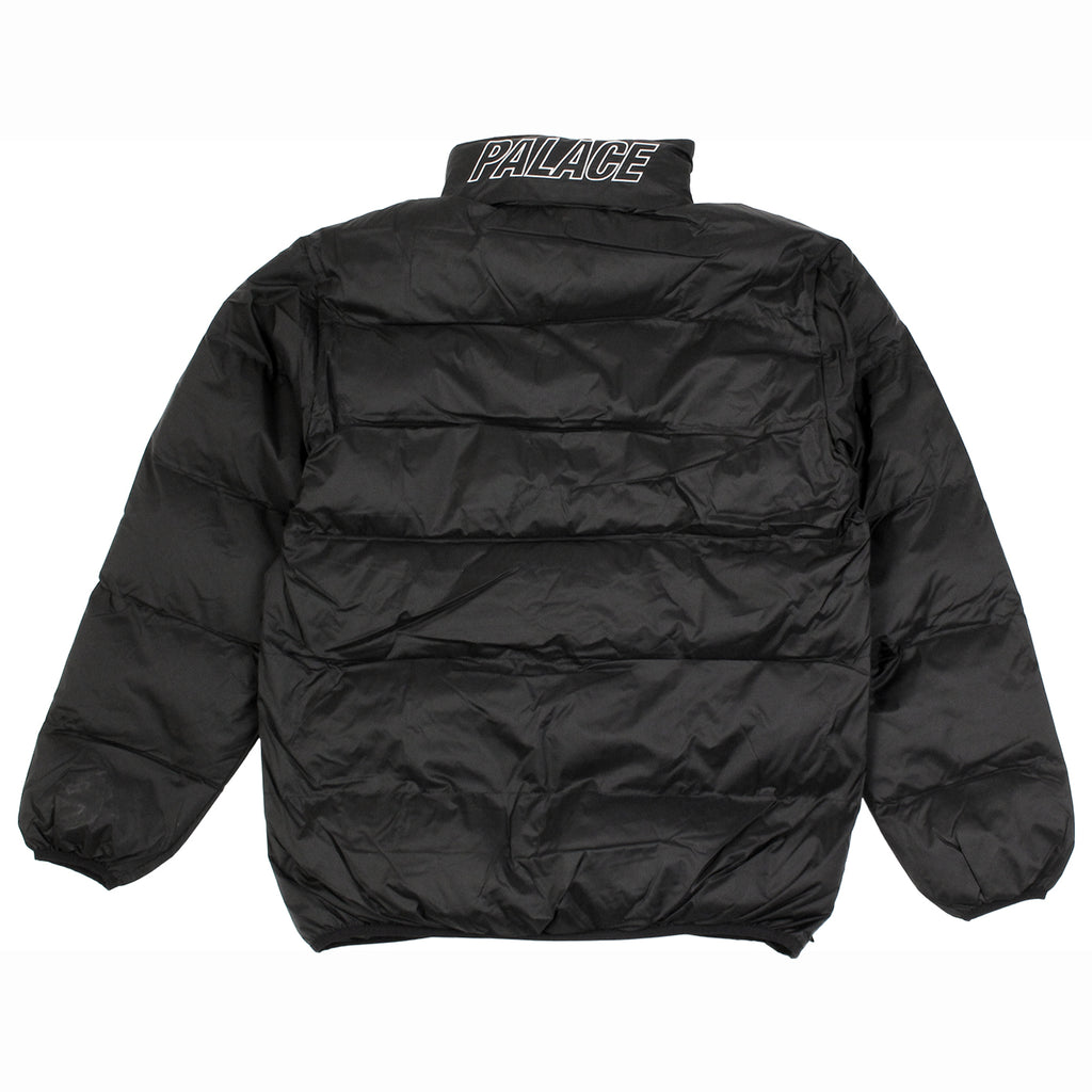 Palace Puffa Jacket in Anthracite - Back