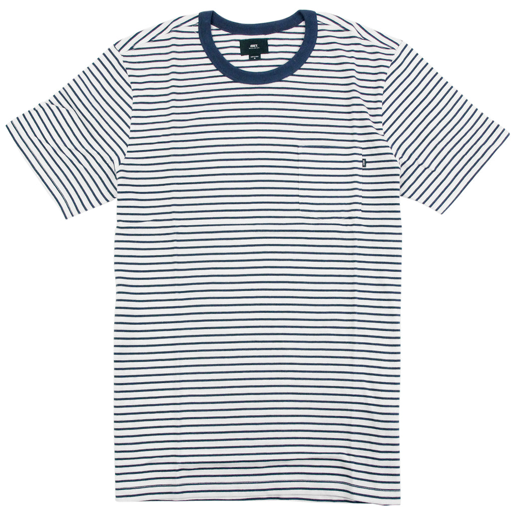 Obey Clothing Richmond Pocket T Shirt in Navy / Multi
