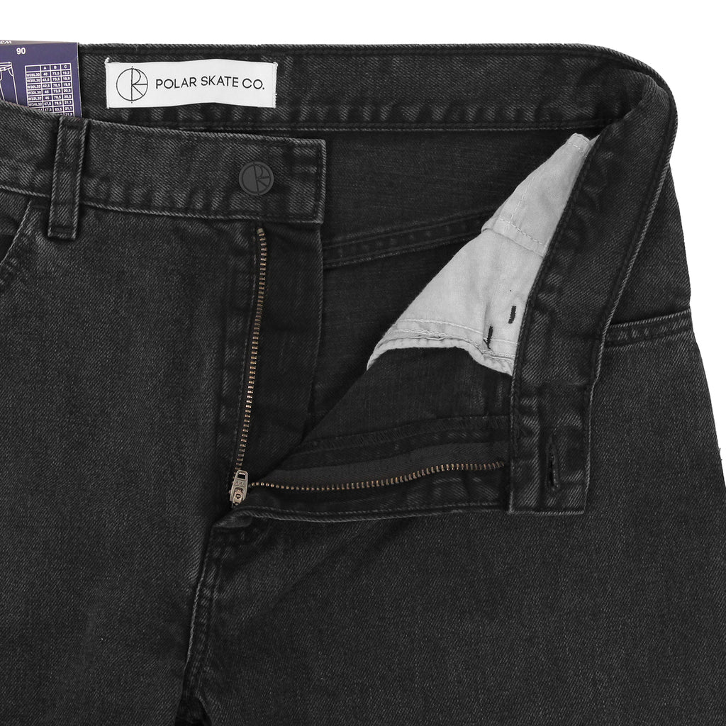 Polar Skate Co 90's Jeans in Black - Unzipped